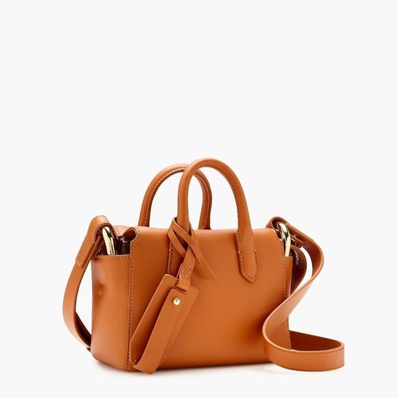 J. Crew Handbags - New J. Crew Harper Mini Satchel in Italian Leather
